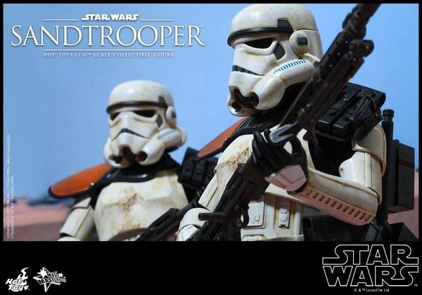 Hot Toys Star Wars EP4 1/6th scale Sandtrooper Figure Sandtr18