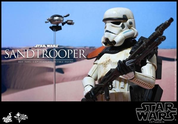 Hot Toys Star Wars EP4 1/6th scale Sandtrooper Figure Sandtr19