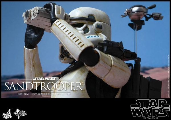 Hot Toys Star Wars EP4 1/6th scale Sandtrooper Figure Sandtr20