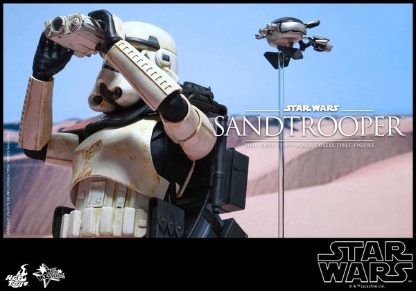 Hot Toys Star Wars EP4 1/6th scale Sandtrooper Figure Sandtr21
