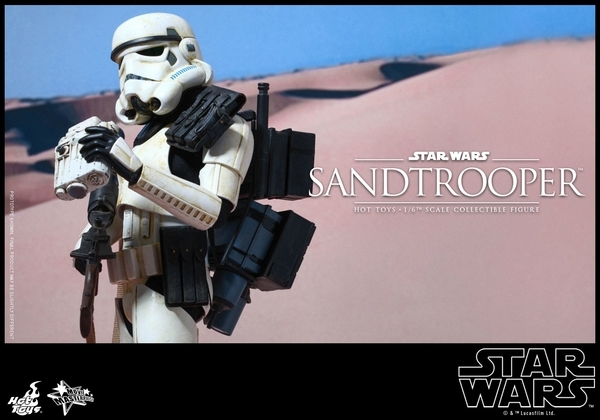 Hot Toys Star Wars EP4 1/6th scale Sandtrooper Figure Sandtr22