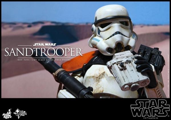 Hot Toys Star Wars EP4 1/6th scale Sandtrooper Figure Sandtr23