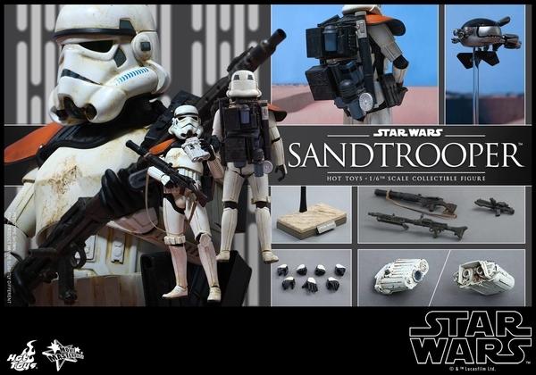 Hot Toys Star Wars EP4 1/6th scale Sandtrooper Figure Sandtr24