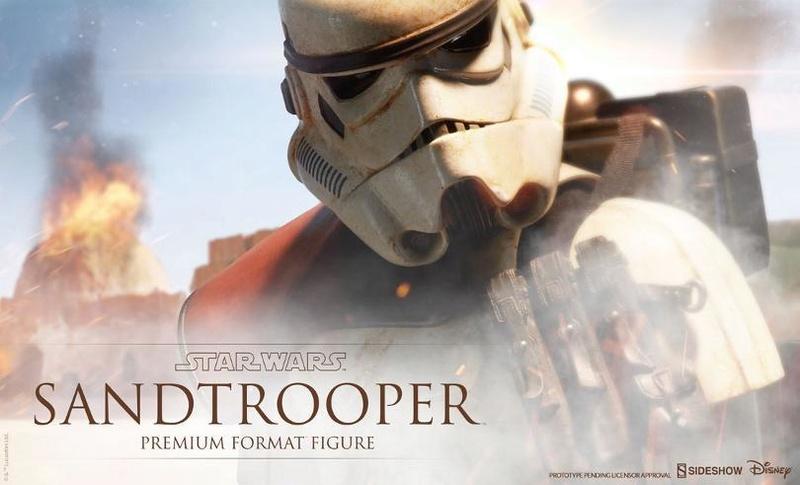 Sideshow Collectibles - Sandtrooper Premium Format Figure Sandtr25
