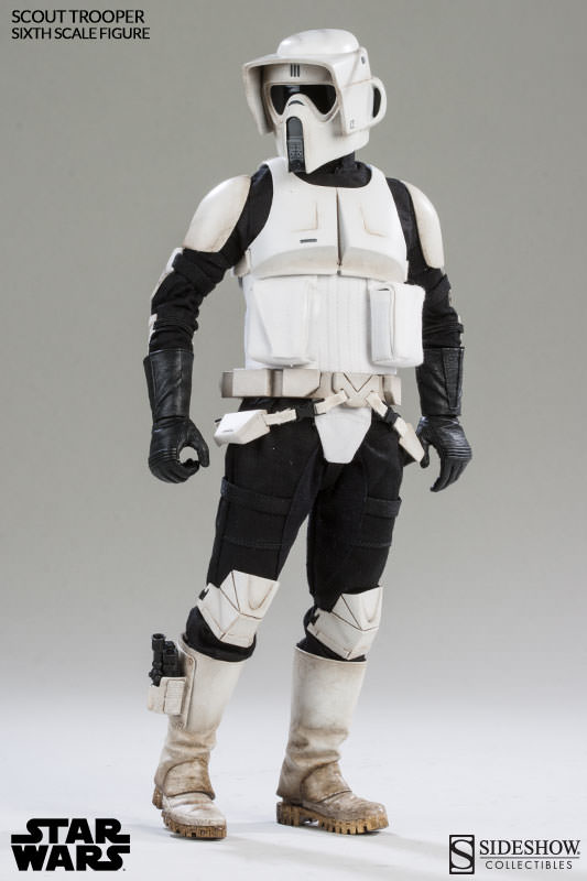 Sideshow - Scout Trooper & Speeder Bike Sixth Scale Figure Scout010