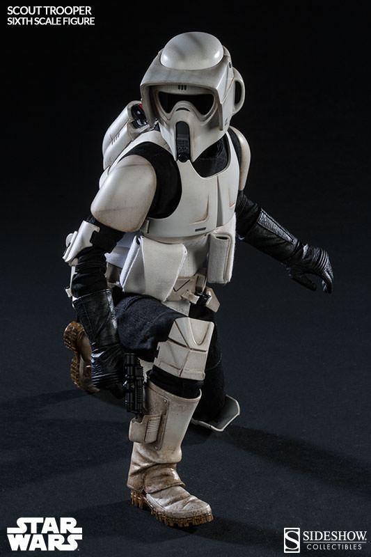 Sideshow - Scout Trooper & Speeder Bike Sixth Scale Figure Scout013