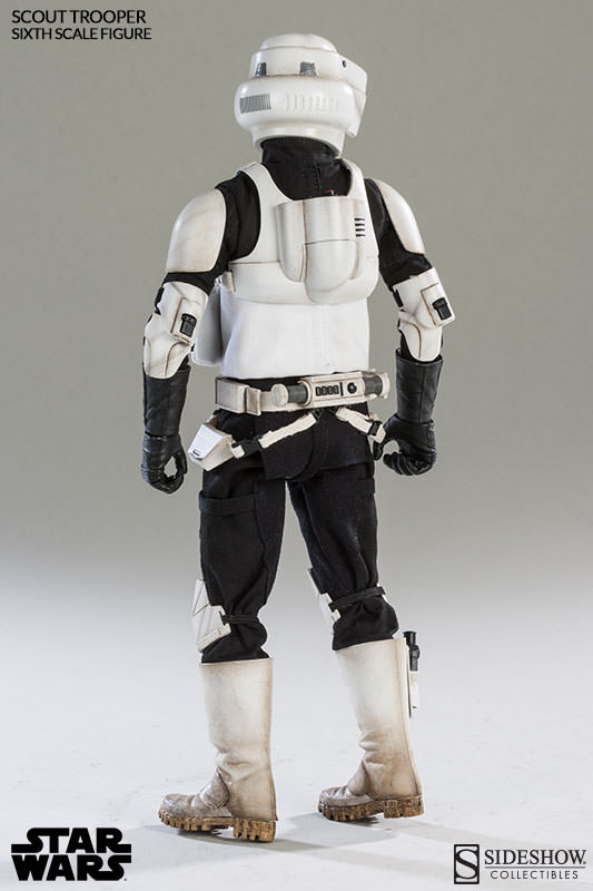 Sideshow - Scout Trooper & Speeder Bike Sixth Scale Figure Scout014