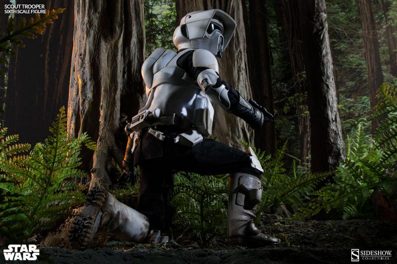 Sideshow - Scout Trooper & Speeder Bike Sixth Scale Figure Scout015