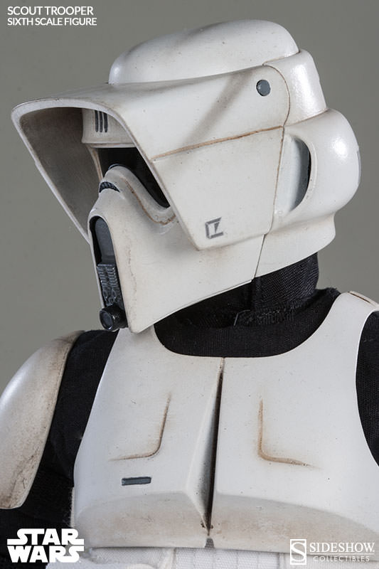 Sideshow - Scout Trooper & Speeder Bike Sixth Scale Figure Scout016