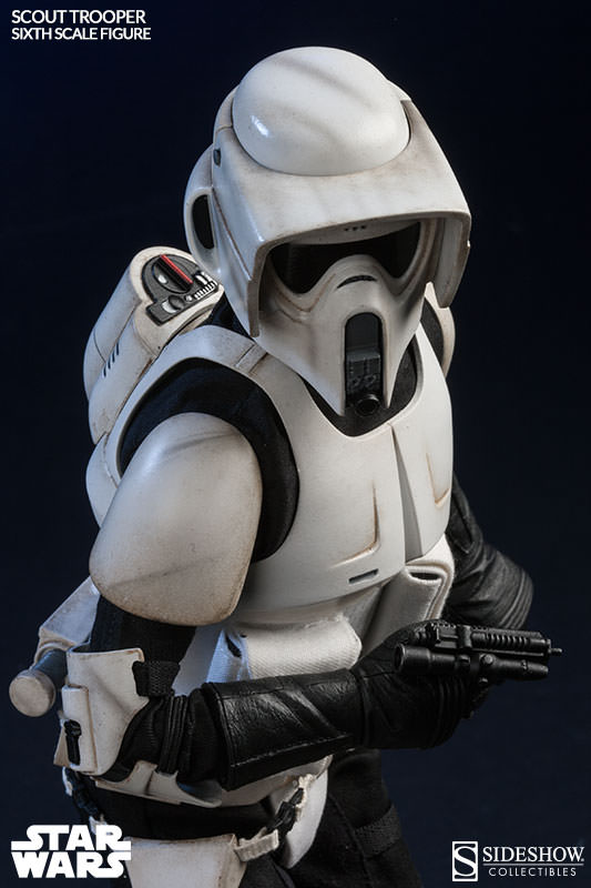 Sideshow - Scout Trooper & Speeder Bike Sixth Scale Figure Scout017
