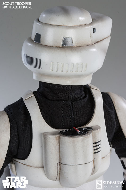 Sideshow - Scout Trooper & Speeder Bike Sixth Scale Figure Scout111