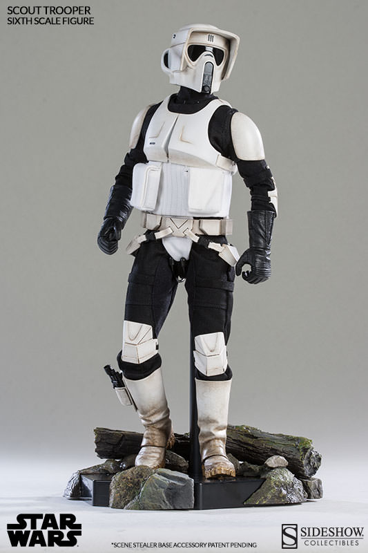 Sideshow - Scout Trooper & Speeder Bike Sixth Scale Figure Scout113
