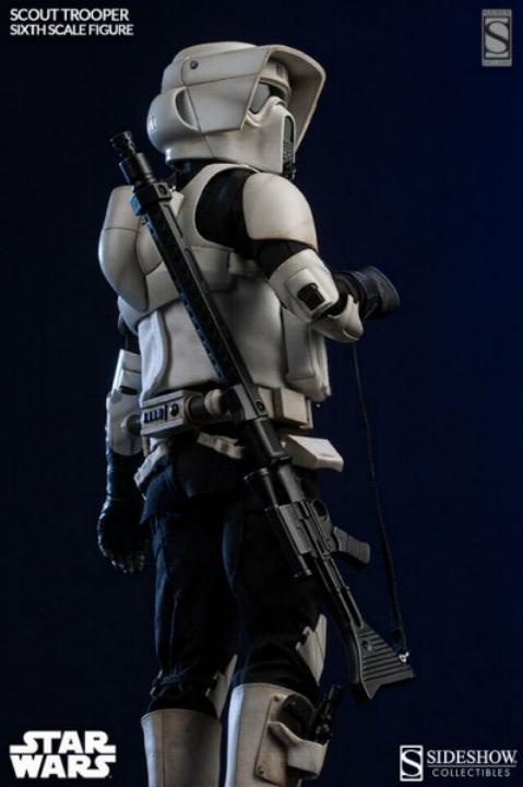 Sideshow - Scout Trooper & Speeder Bike Sixth Scale Figure Scout115