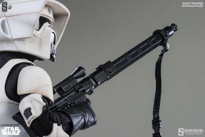 Sideshow - Scout Trooper & Speeder Bike Sixth Scale Figure Scout116