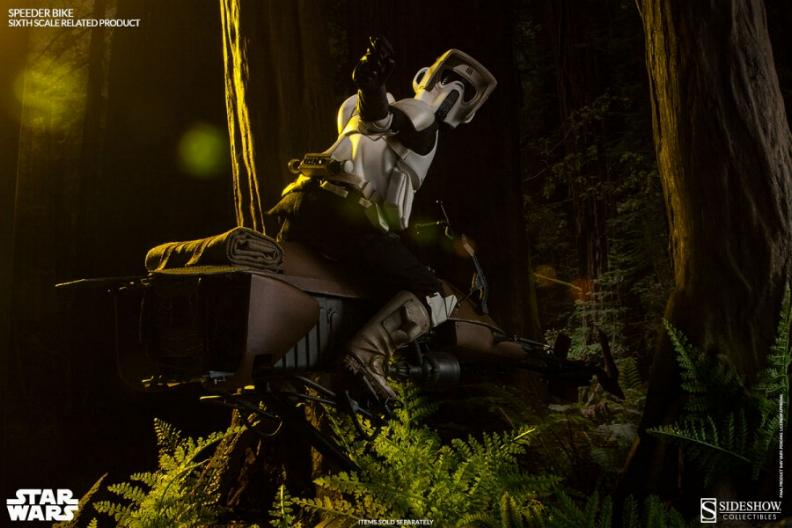 Sideshow - Scout Trooper & Speeder Bike Sixth Scale Figure Scout118