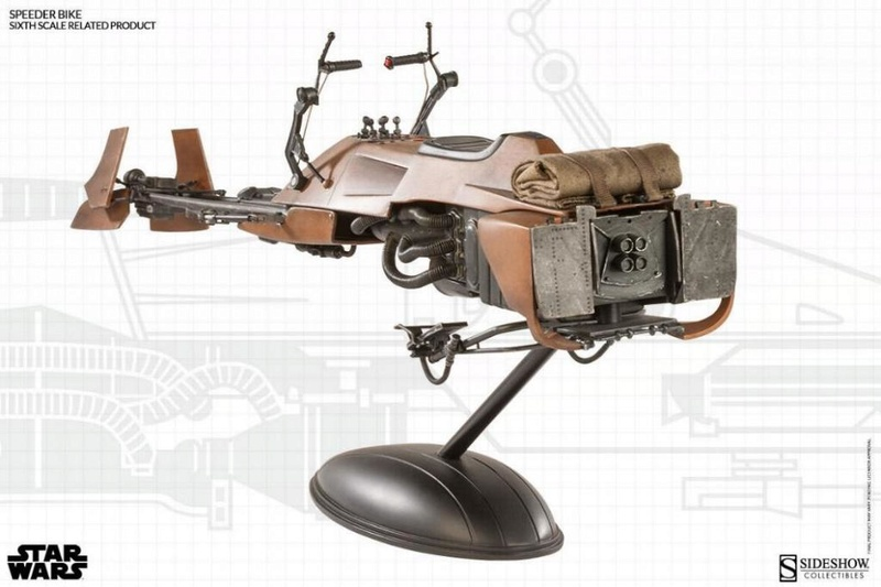 Sideshow - Scout Trooper & Speeder Bike Sixth Scale Figure Scout121