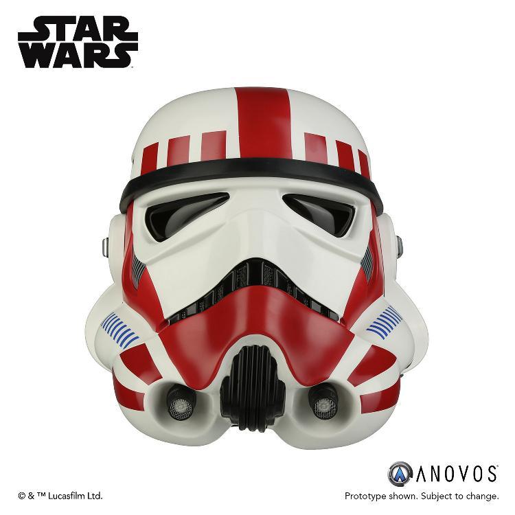 ANOVOS - STAR WARS Imperial Shock Trooper Helmet Accessory Shock_11