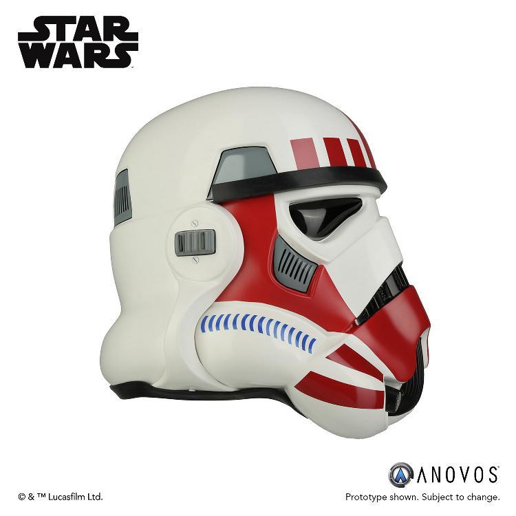 ANOVOS - STAR WARS Imperial Shock Trooper Helmet Accessory Shock_13