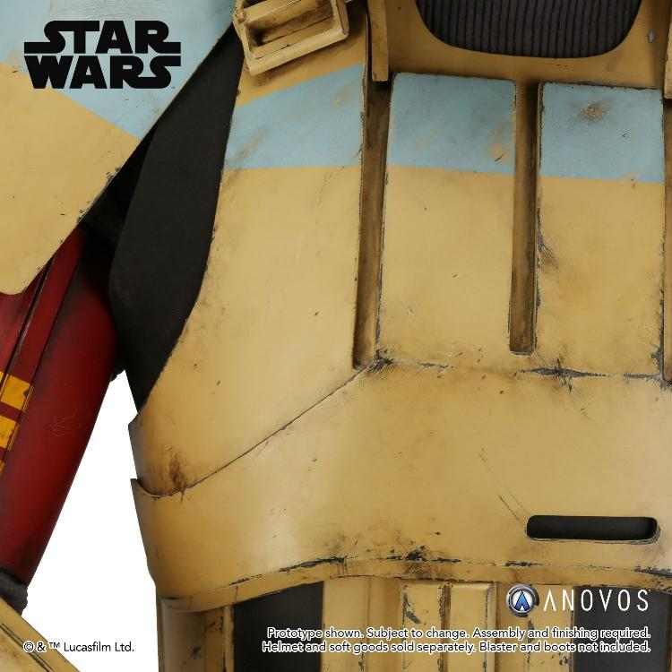 ANOVOS STAR WARS ROGUE ONE Shoretrooper Armor Kit Shoret14