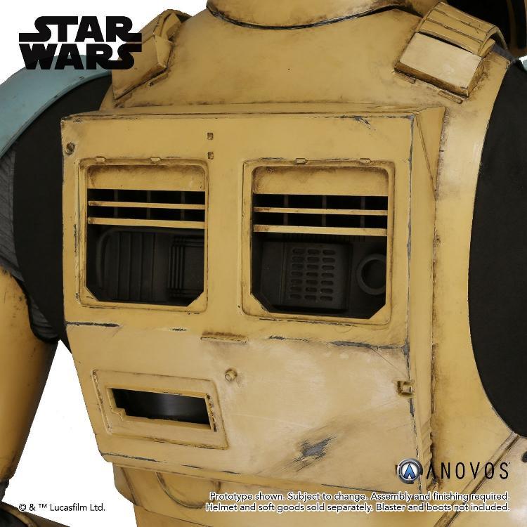 ANOVOS STAR WARS ROGUE ONE Shoretrooper Armor Kit Shoret16