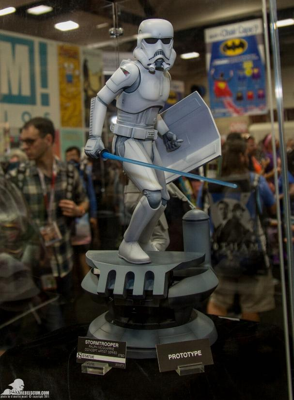 Sideshow Stormtrooper Statue Ralph McQuarrie Artist Series  Sid_st10