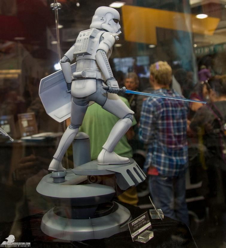 Sideshow Stormtrooper Statue Ralph McQuarrie Artist Series  Sid_st11