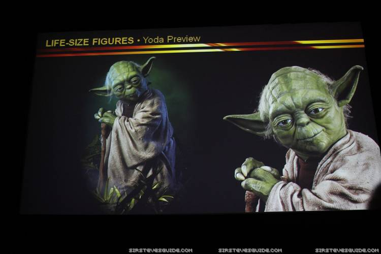 Sideshow Collectibles - Star Wars Yoda Life-Size Figure Sidesh21