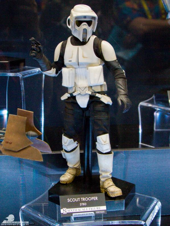 Sideshow - Scout Trooper & Speeder Bike Sixth Scale Figure Sidesh24