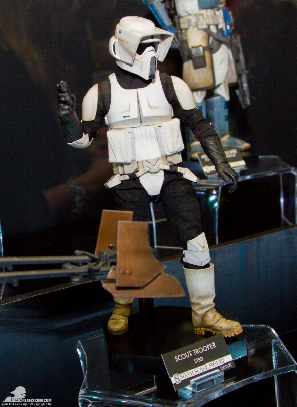 Sideshow - Scout Trooper & Speeder Bike Sixth Scale Figure Sidesh26