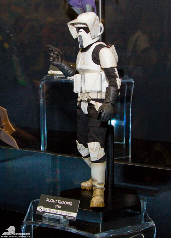 Sideshow - Scout Trooper & Speeder Bike Sixth Scale Figure Sidesh27