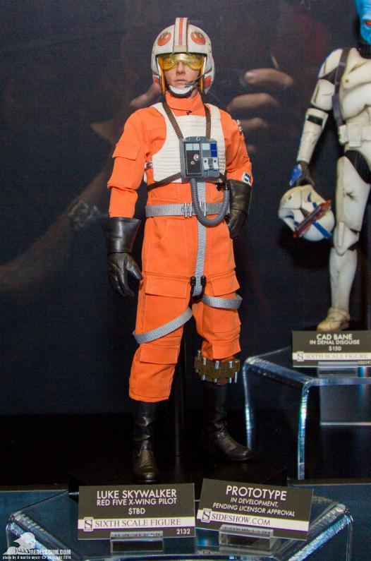 Luke Skywalker: Red Five X-Wing Pilot Sixth Scale Figure Sidesh36