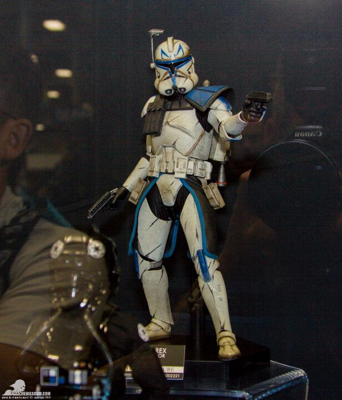 Sideshow - Captain Rex – Phase II Armor Sixth Scale Figure Sidesh52