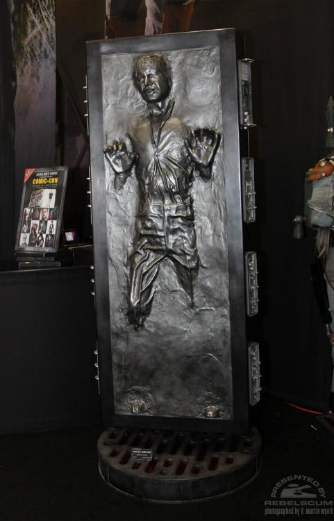 Sideshow - Han solo in Carbonite - Life Size Figure - Page 2 Sidsol14