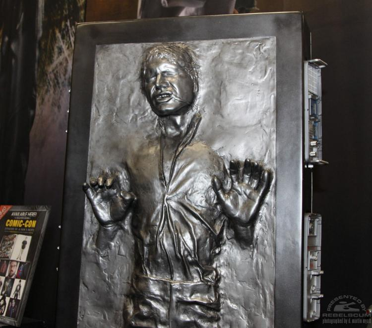 Sideshow - Han solo in Carbonite - Life Size Figure - Page 2 Sidsol15