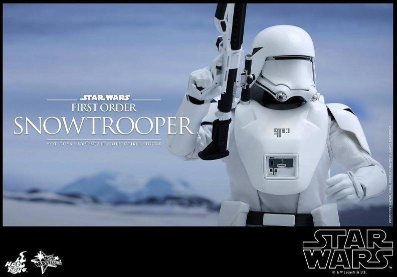 Hot Toys Star Wars: TFA 1/6th scale First Order Snowtrooper Snow_f12