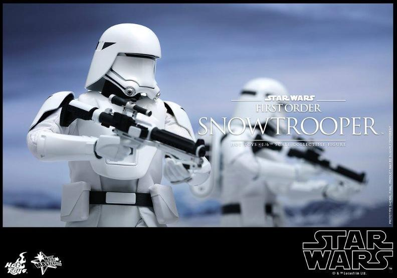 Hot Toys Star Wars: TFA 1/6th scale First Order Snowtrooper Snow_f17