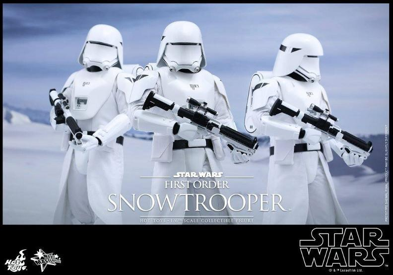 Hot Toys Star Wars: TFA 1/6th scale First Order Snowtrooper Snow_f18