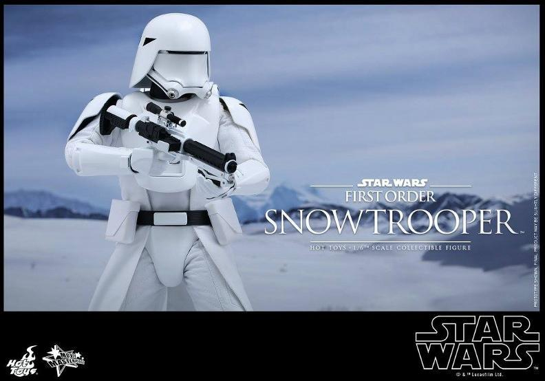 Hot Toys Star Wars: TFA 1/6th scale First Order Snowtrooper Snow_f19