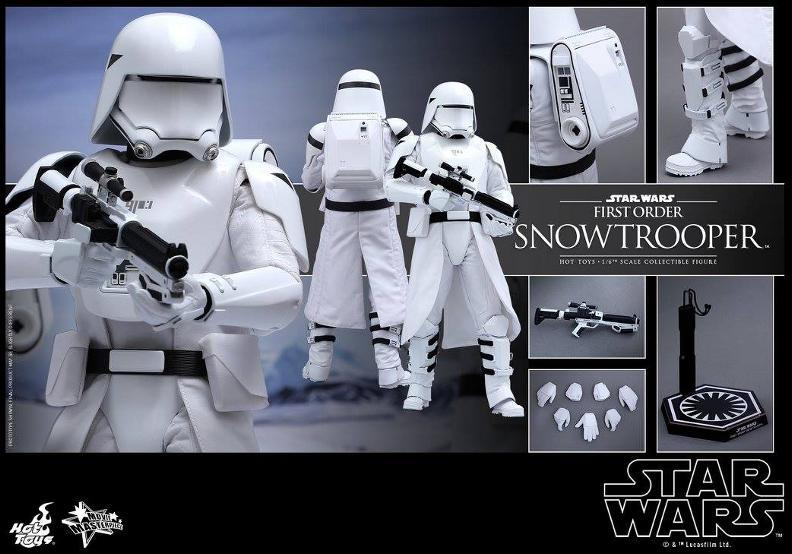 Hot Toys Star Wars: TFA 1/6th scale First Order Snowtrooper Snow_f20