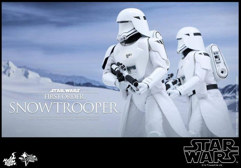 Hot Toys Star Wars: TFA 1/6th scale First Order Snowtrooper Snow_f21