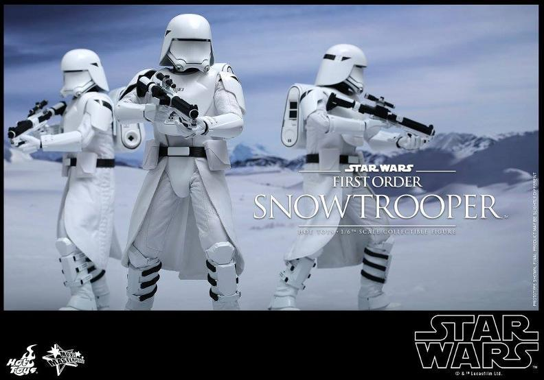 Hot Toys Star Wars: TFA 1/6th scale First Order Snowtrooper Snow_f22