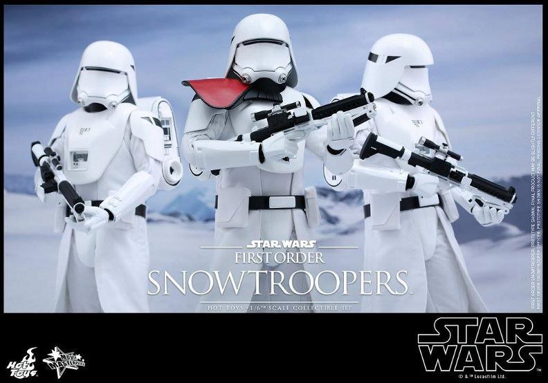Hot Toys Star Wars TFA 1/6 Scale First Order Snowtrooper Set Snow_f25