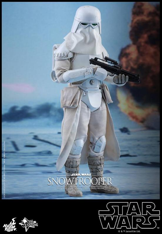 Hot Toys The Empire Strikes Back - 1/6th scale Snowtrooper Snowes12