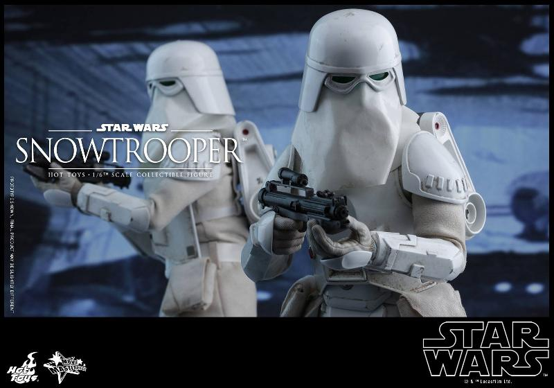 Hot Toys The Empire Strikes Back - 1/6th scale Snowtrooper Snowes17