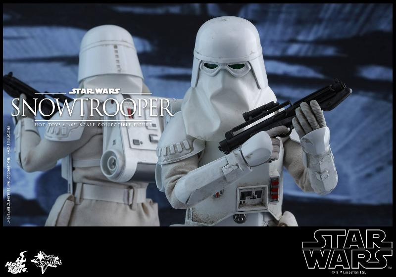 Hot Toys The Empire Strikes Back - 1/6th scale Snowtrooper Snowes19