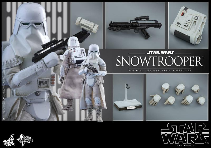 Hot Toys The Empire Strikes Back - 1/6th scale Snowtrooper Snowes20