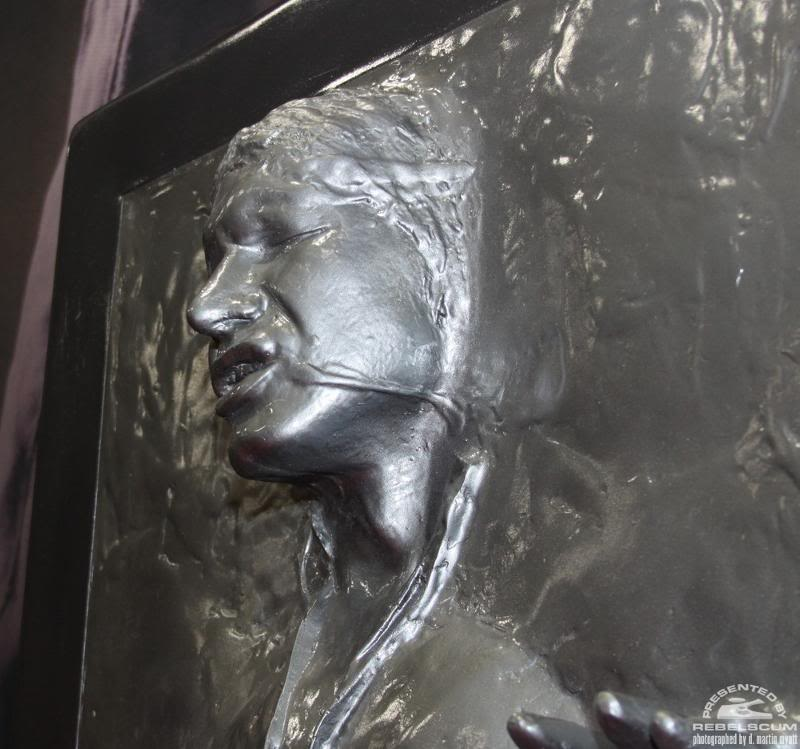 Sideshow - Han solo in Carbonite - Life Size Figure Solo0810