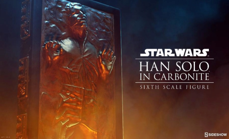 Sideshow - Han Solo in Carbonite Sixth Scale Figure Soloca10