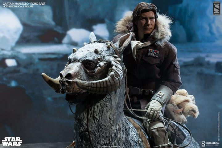 Sideshow Collectible - Luke, Han & Tauntaun Hoth Planet Soloho17