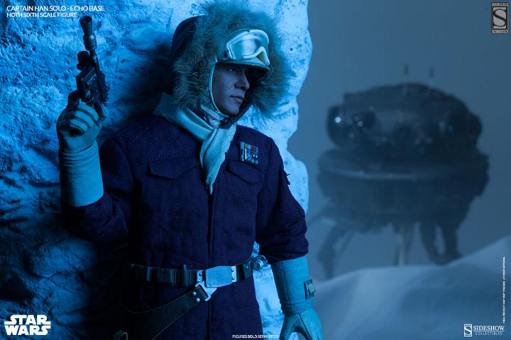 Sideshow Collectible - Luke, Han & Tauntaun Hoth Planet Soloho18